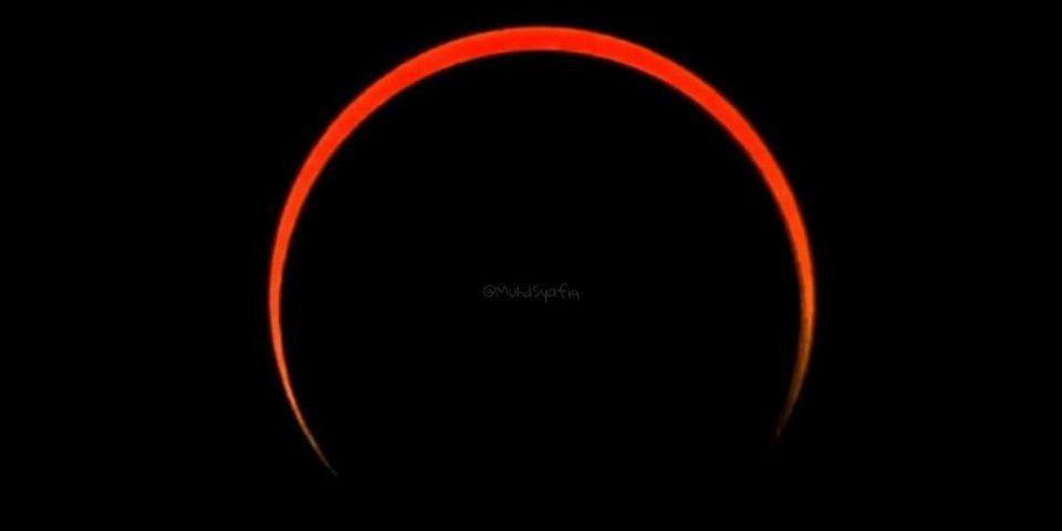 gerhana matahari separa